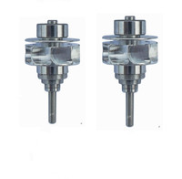 High Quality 2pc dental Turbine rotor for High Speed Handpiece Compatible with KAVO 6500B PB