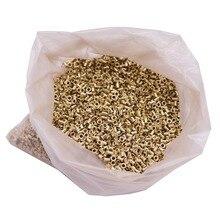 約 12100 個蜂じんましんインストールネジ穴銅メッキ材料約 990 グラムの正味重量養蜂ツール銅目