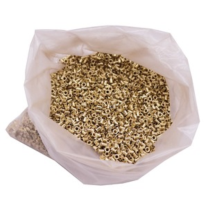 Image 1 - ABOUT 12100 pcs Bee Hives Installation Thread Hole Copper Plated Material About 990g Net Weight Beekeeping Tools Copper Eyes