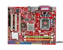 MSI G31M3 V2 G31TM-P21 ms-7529 G31 DDR2 775 integrated graphics motherboard 100% TESTED OK BEFORE SHIPPING