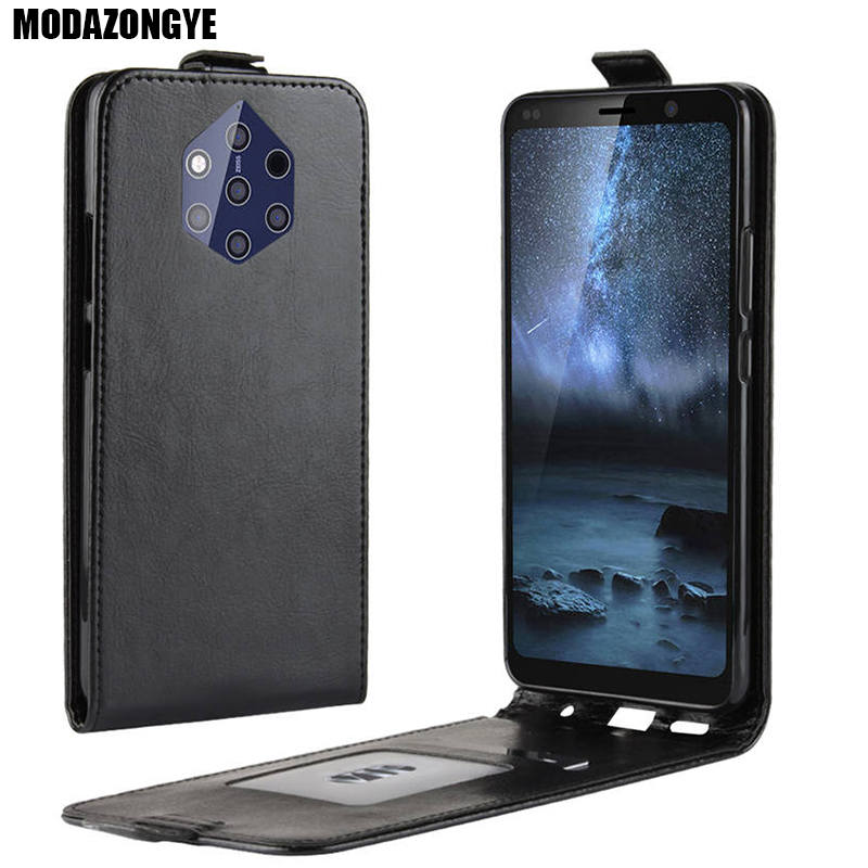 Nokia 9 PureView Case Wallet PU Leather Back Cover Phone Case Nokia 9 PureView 9Pure Pure View TA-1094 Nokia9PureView Case Flip