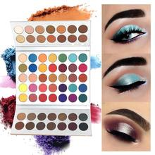 63 Color Eyeshadow Pallete Glitter Makeup Matte Eye Shadow Long-lasting Make Up Palette Maquillage Paleta De Sombra все цены