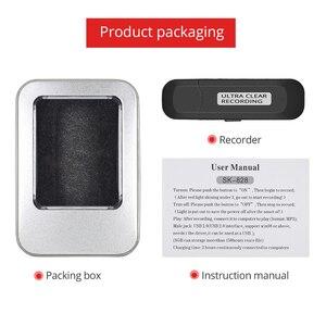 Image 5 - Tishric GốC 8GB Mini USB Ghi Âm 150 Giờ Chuyên Nghiệp Dictaphone Âm Thanh Kỹ Thuật Số Máy Ghi Âm