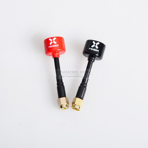 Image 2 - 2PCS 59MM Foxeer Lollipop 3 /5.8G RHCP FPV Antenna 2.5Dbi SMA/RP SMA /mini Antenna 7.3g for FPV Freestyle Frame Racing