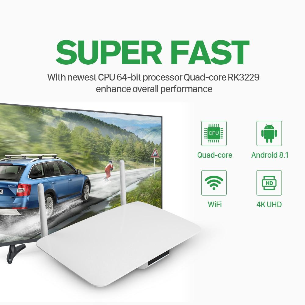 IPTV Android 8 1 Q1404 IPTV Set top Box 1 Year QHDTV Code 2G 16G Rk3229  IPTV Arabic French Algeria Lebanon IP TV box