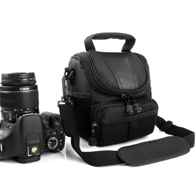 Systematic Camera Case Bag For Canon Eos 750d 1300d 760d 800d 700d 60d 70d 600d 650d 450d 200d Rebel T6i T5i M5 M3 M10 M6 M100 G1x Mark Ii Large Assortment Digital Gear Bags