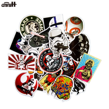 25 Pcs Star Wars Cartoon Mix Style Funny Sticker For Decor Luggage Moto Skate Laptop Guitar
