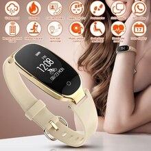 Bluetooth S3 Smart Водонепроницаемый часы модные женские туфли женские монитор сердечного ритма Фитнес трекер Smartwatch Android IOS relojes