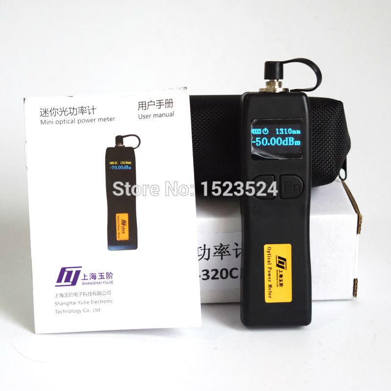 YJ-320C -50~+26dBm Handheld Mini Optical Power Meter