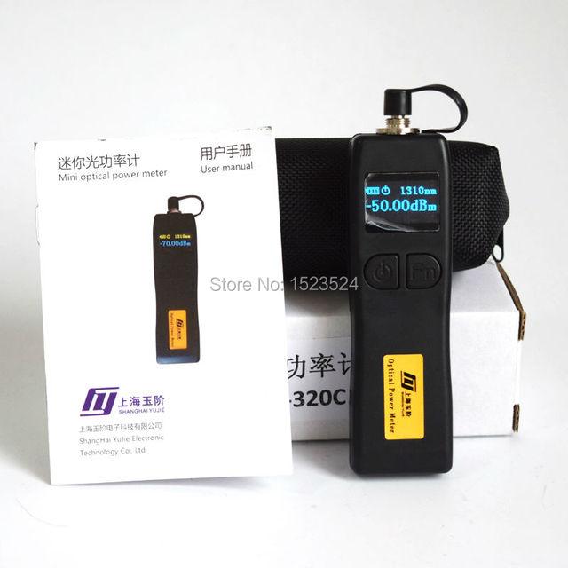 YJ 320C 50 〜 + 26dBm ハンドヘルドミニ光パワーメータ