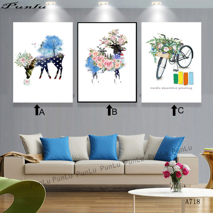 Wall Paintings For Sale Northern Europe Modern Landscape Living Room Paintings Hotel Wall Painting High Definition Painting