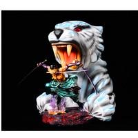 25 см одна часть три лезвия Roronoa Зоро фигурку игрушки Модель кукла Тигр покрытие Цвет аниме Рисунок детский подарок H231