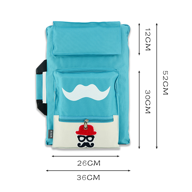 Image 4 - Kids Art bag for drawing board painting set travel 8K sketch bag for sketching Canvas painting art supplies for children artist-in Art Sets from Office & School Supplies