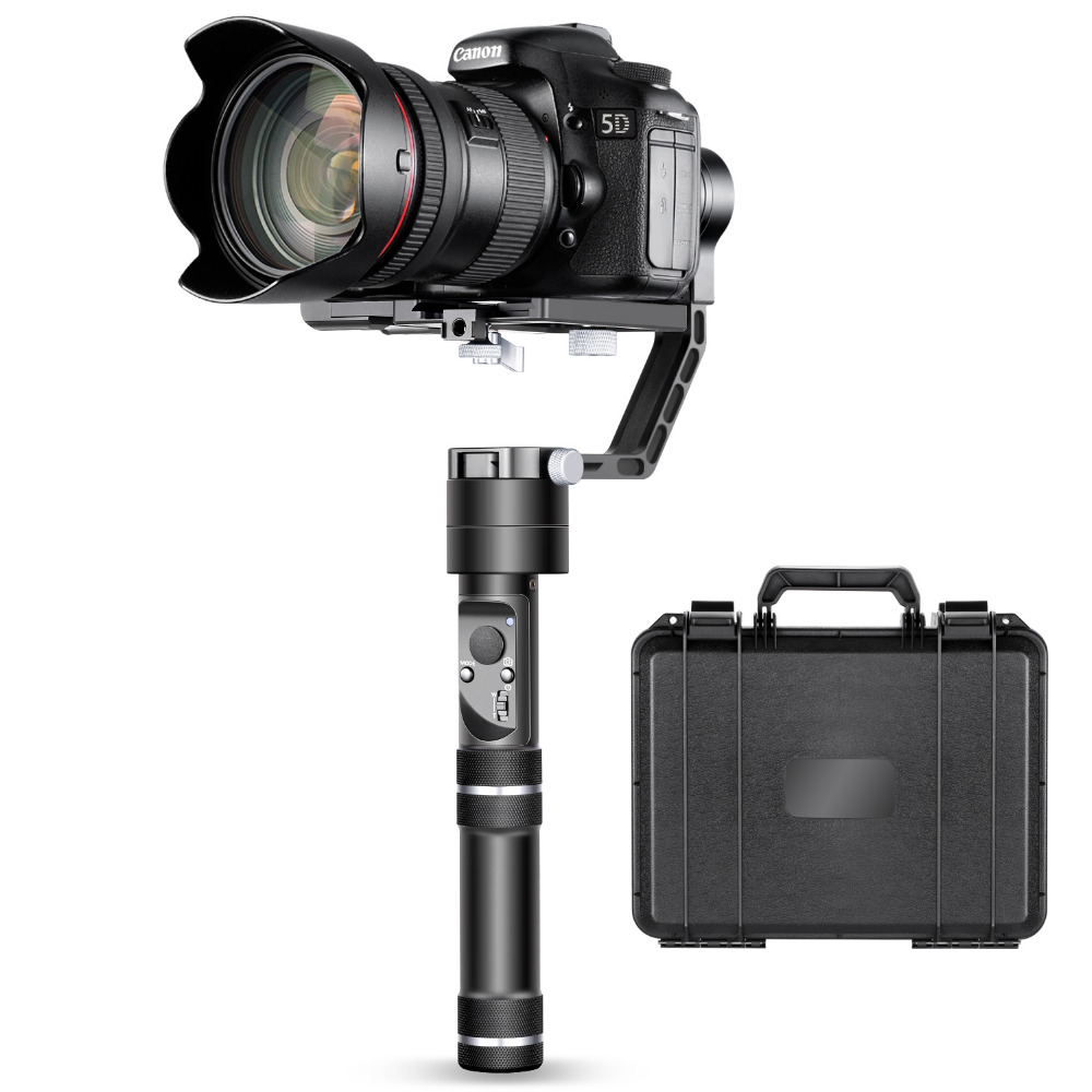 Zhiyun Crane 3-Axis Handheld Gimbal Stabilizer for Canon M/Nikon J/Sony A7/Panasonic Lumix/APP and Bluetooth Control latest 2017 version zhiyun crane 3 axis handheld stabilizer gimbal for dslr canon sony a7 cameras load 1800g