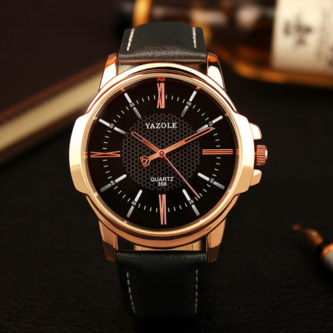 Yazole Brand Luxury Famous Men Watches Business Mens Watch Male Clock Fashion Quartz Watch Relogio Masculino reloj hombre 2019 Karachi