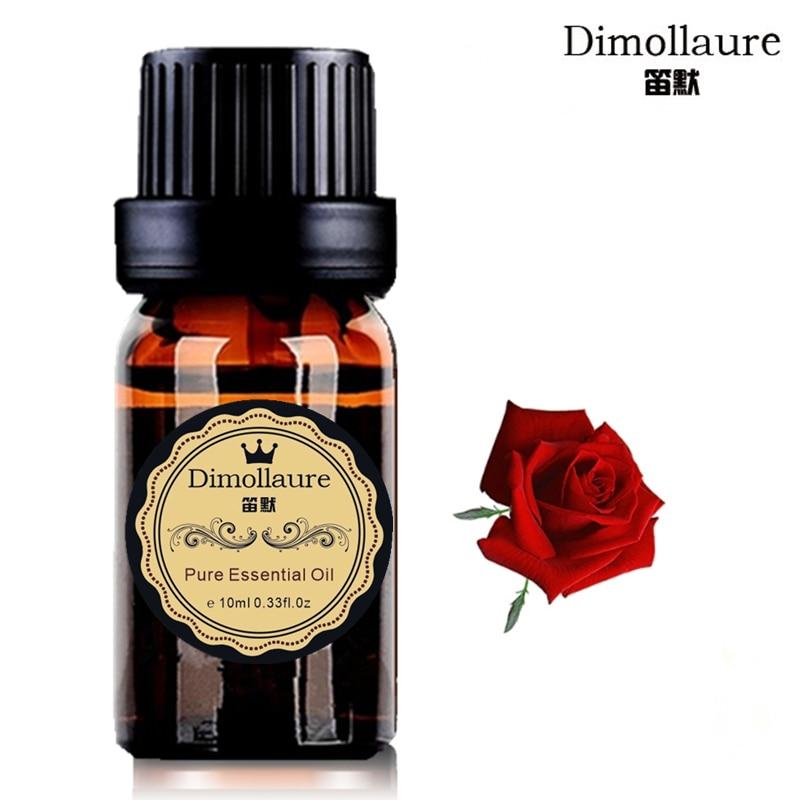 Dimollaure Rose ulei de esență picior Baie Spa Body Massage Oil Ulei esential de plante pentru lampa de parfumare umidifie Aromaterapie
