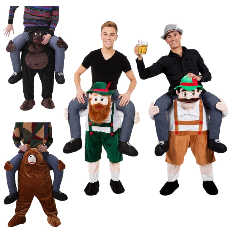 Funny Fancy Dress Up Ride On Oktoberfest Mascot Party Mascot Christmas Costume One Size Fits Most Fancy Pants