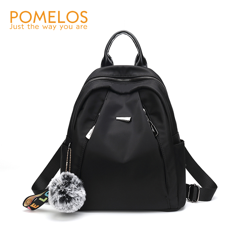 POMELOS Backpack Women Fashion New Arrival Waterproof Backpack For College Students School Backpacks Woman Back Pack Black BrandPOMELOS Backpack Women Fashion New Arrival Waterproof Backpack For College Students School Backpacks Woman Back Pack Black Brand