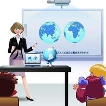 Обучающие организации портативная ультразвуковая инфракрасная интерактивная доска YC100N умная школьная доска