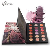 NICEFACE Face Makeup Eye Shadow Palette 18 Colors Eyeshadow Shades Shimmer Matte Professional Cosmetic High Quality
