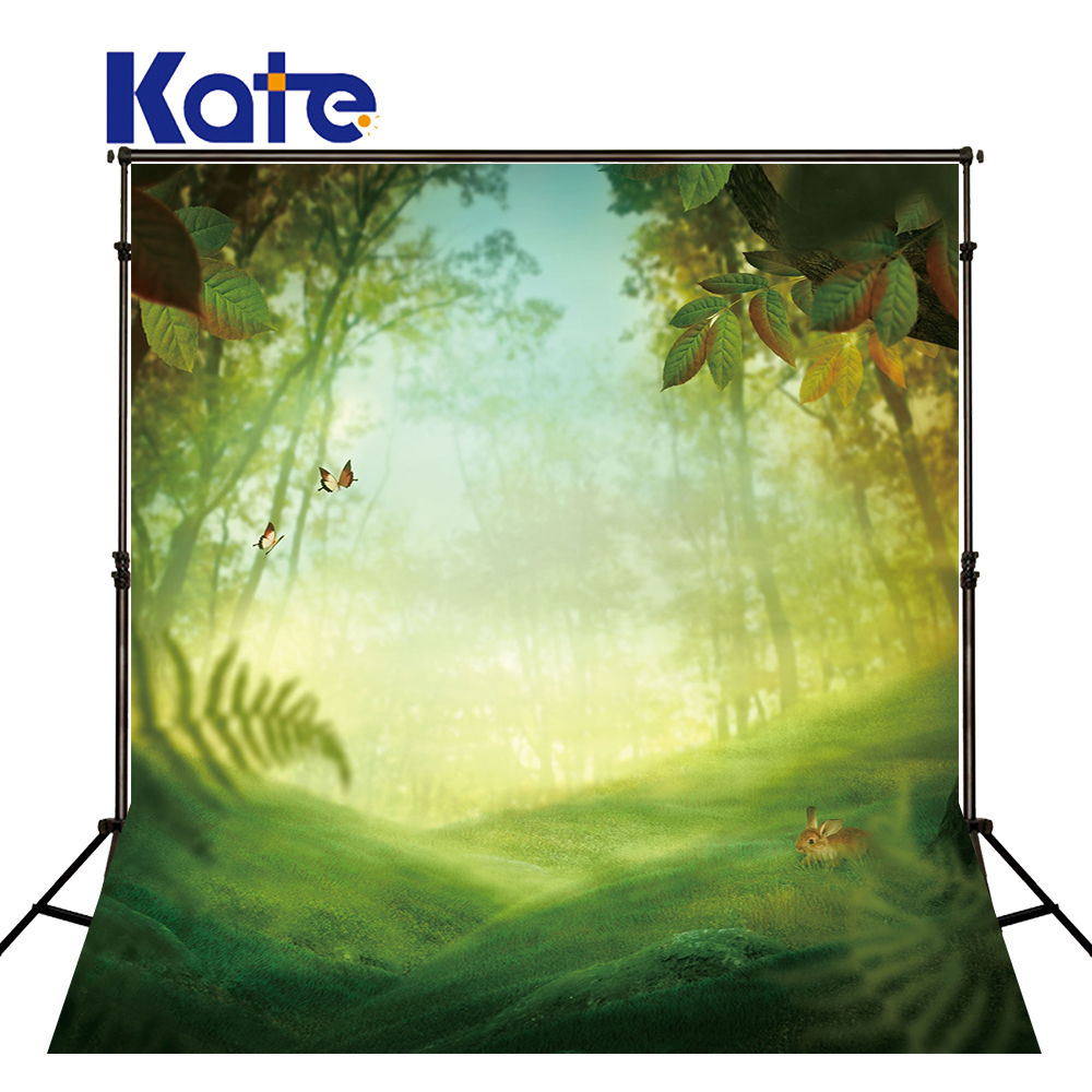 Kate Spring Photography Backdrops Scenic Photography Backdrops Green Forest Background Large Size Seamless Photo For Studio матрас dreamline dreamroll contour mix 90x190
