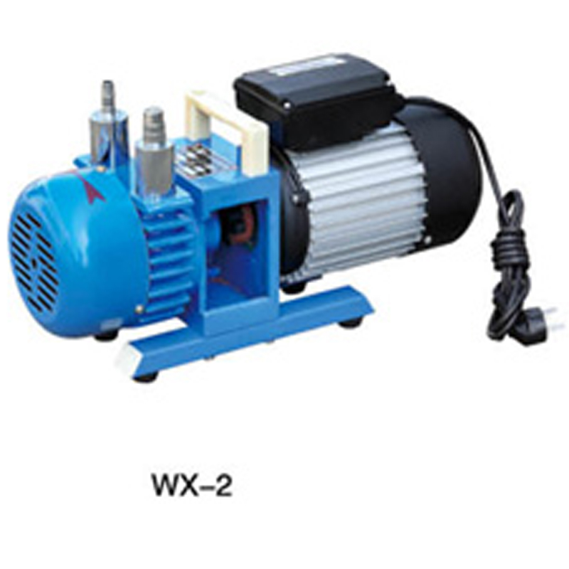 WX-2 AC220V monophasé 50 HZ 120L/min 0.37KW pompe à vide à palettes rotatives sans huile chine