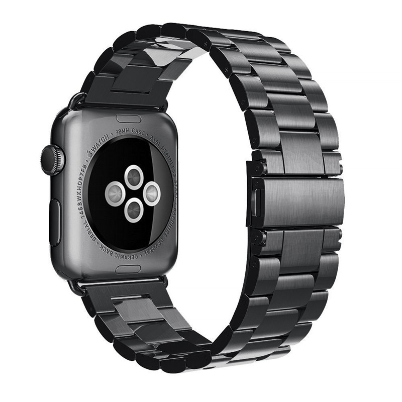 Stainless Steel Strap For Apple Watch 42mm 38mm Metal Classic Replacement Band For iWatch Business Men Bracelet Accessories korff средство двухфазное для снятия макияжа 150 мл
