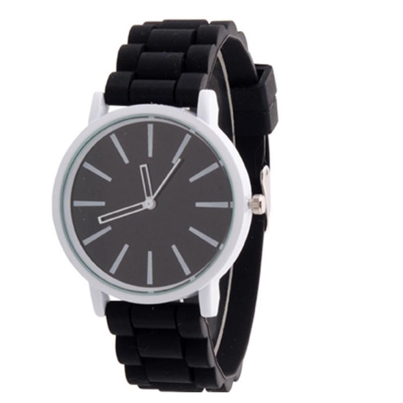 e41fe2d2c8f Moda feminina Relógio de Quartzo Gel Geléia De Borracha de Silicone Esporte  Quartz Analógico Sports Relógio de Pulso Das Mulheres Para Grils Senhoras
