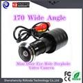2016 горячее надувательство 170 Широкоугольный CCD Проводной Мини Дверь Отверстия Глаз Глазок Видеокамеры Цвет DOORVIEW CCTV Камеры