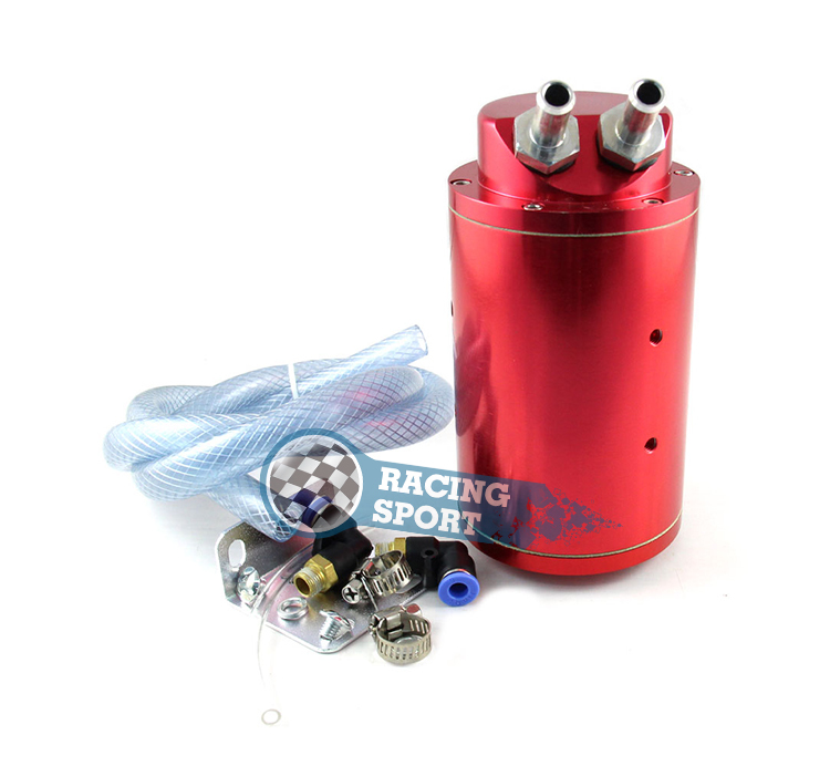 Racing Oil Catch Tank Can tuning cars performance default color is red