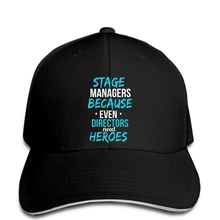 Hip hop gorras de béisbol hombres divertidos sombrero mujeres novedad Funny  Stage Manager incluso directores necesitan 3b9e444fc25