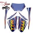 Brand New Motorcycle Complete Graphic Kit Dirt Bike Sticker Fuel Tank Decal Gas Tank Decals For TTR250