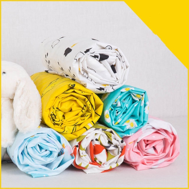 Printed Cotton Fitted Sheets