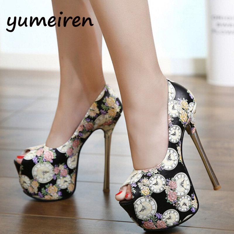Wedding White Pumps: Wedding Shoes White Flower Pumps Platform Shoes Extreme