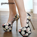 wedding shoes white flower pumps Platform shoes extreme high heels Shoes  Pumps purple heels Evening Party 32c297321d7d