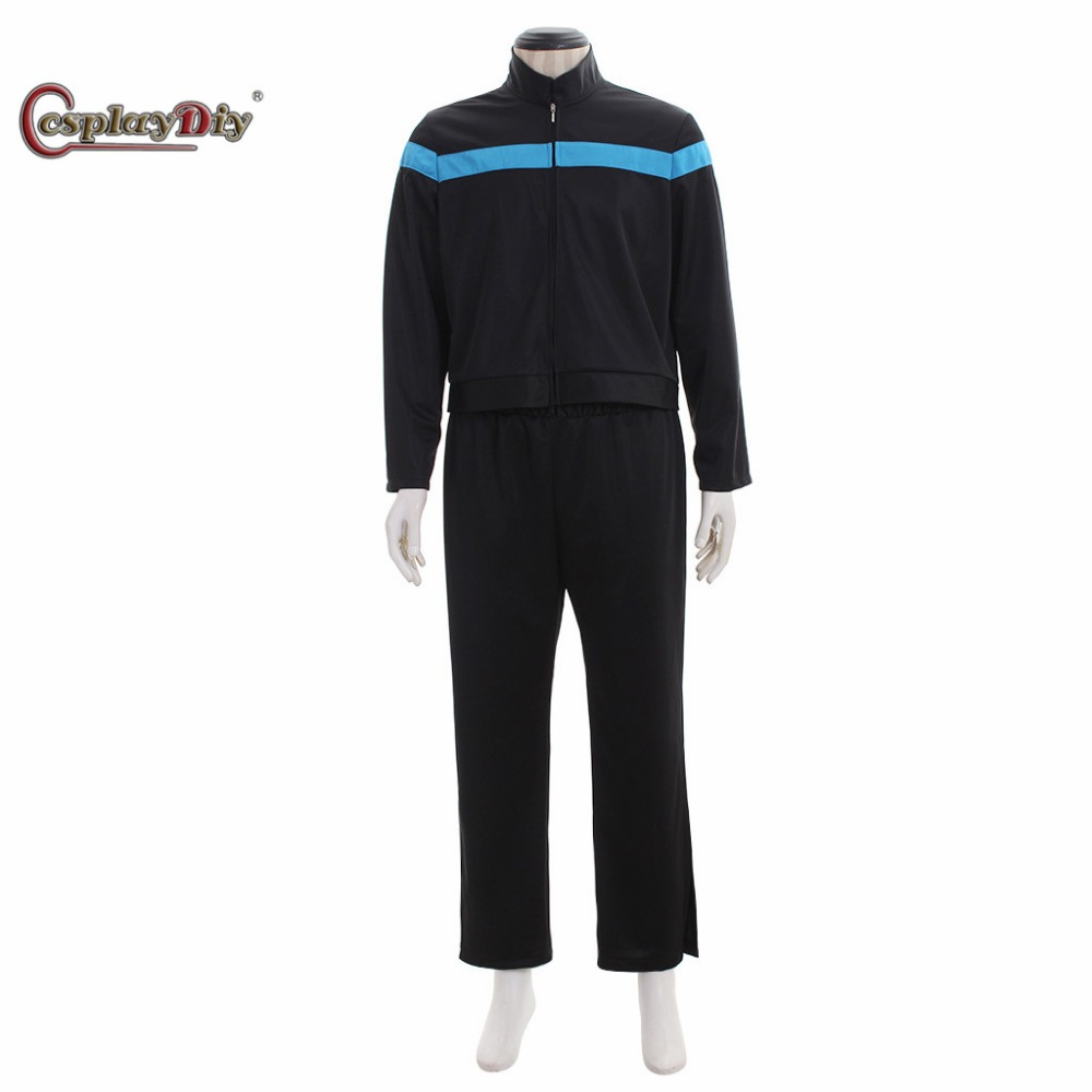 Cosplaydiy Star Trek Online Cosplay Uniform Odyssey Science Costume For Adult men Halloween Outfit Custom Made