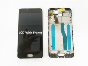 Image 2 - AAA جودة LCD + الإطار ل MEIZU M5 شاشة Lcd صغيرة 5.2 بوصة شاشة محول الأرقام شاشة تعمل باللمس لاستبدال M611D/A/Y/H