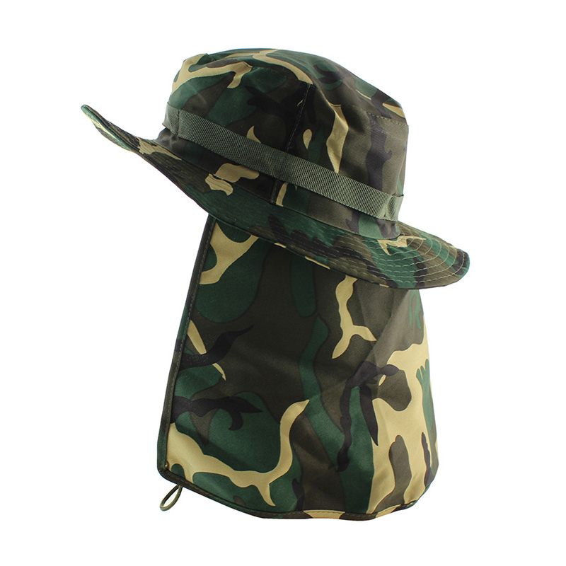 24e99d1da34 Dropwow Tactical Camouflage Boonie Hats Nepalese Cap Bucket Hat ...