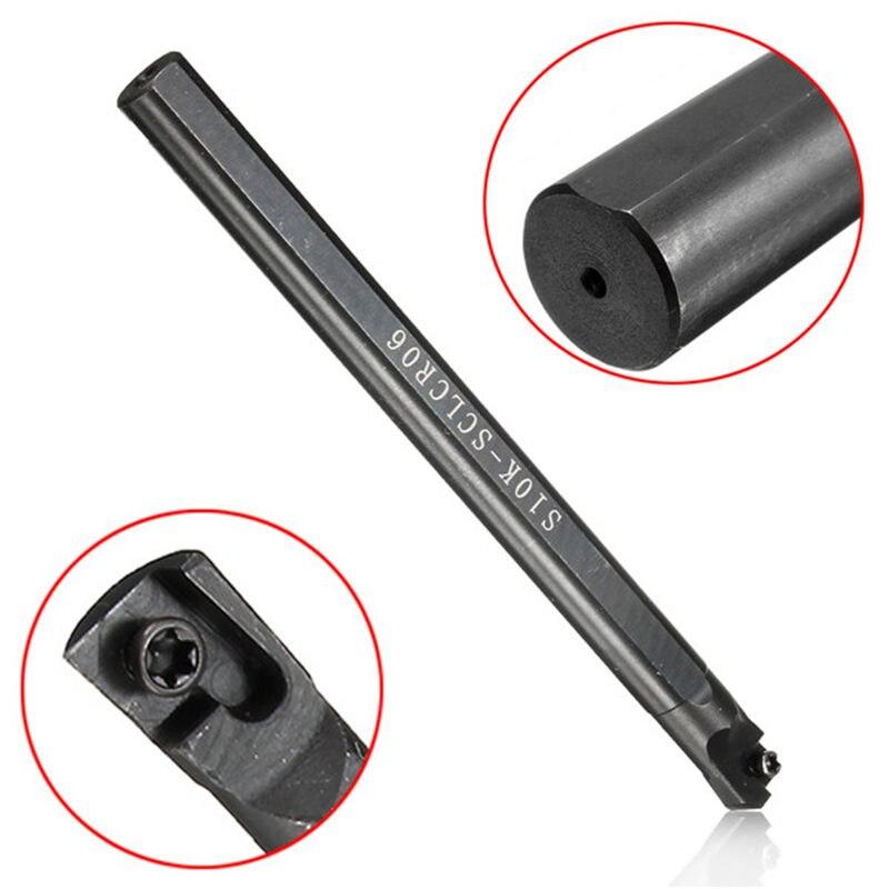 1 компл. S06K/S07K/S08K/S10K/S12M-SCLCR06 токарный станок токарный инструмент держатель расточные бар для CCMT