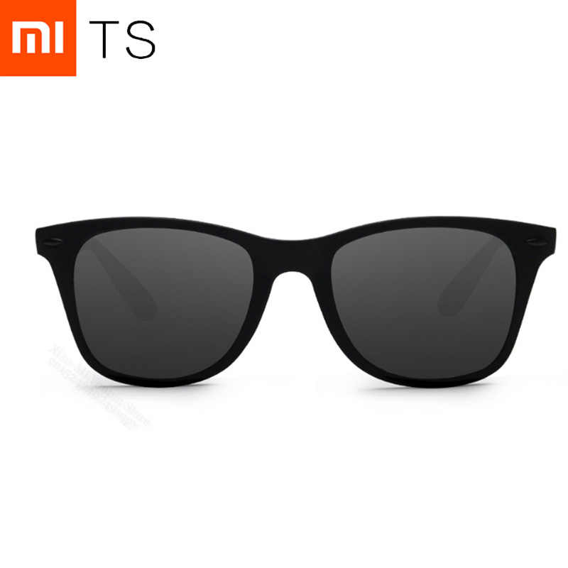 NEW Xiaomi Mijia TS Fashion Human Traveler Sunglasses STR004-0120 TAC Polarized Lens UV Protection for Driving and Travel