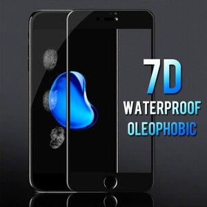 Image 4 - 7D Volle Abdeckung Gebogene Weichen Rand Gehärtetem Glas Für iPhone 6 6S 7 8 Plus X Screen Protector Für iPhone 8 7 6 6S X XS Abdeckung Glas