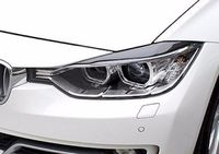 Carbon Fiber Headlight Eyelids Eyebrows for 2014 2017 BMW F32 F33 F36 4 Series