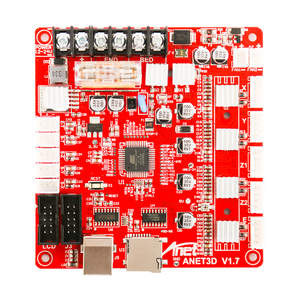 Image 3 - 1pc anet V1.7 3Dプリンタ制御ボードanetためA8 & A6 & A3 & A2 3Dプリンタreprap i3 3Dプリンタマザーボード4色