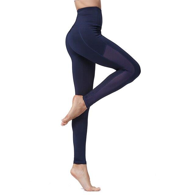 Yoga Leggings Women High Waist Tummy Control Sp ...