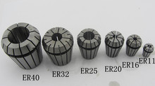 3 pcs er11 collet for CNC milling lathe tool and spindle motor, 3.175mm, 4mm and 6mm