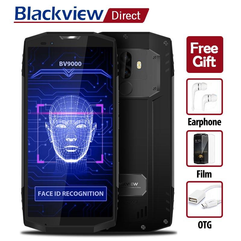 BLACKVIEW BV9000 18:9 IP68 Étanche Smartphone 5.7 lunette-moins MTK6757CD Octa Core 4g + 64g 4180 mah Android 7.1 4g 13MP téléphones