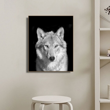 Wolf Animals Photography Wall Art Canvas Painting Calligraphy Poster and Print Decorative Picture for Living Room Home Decor