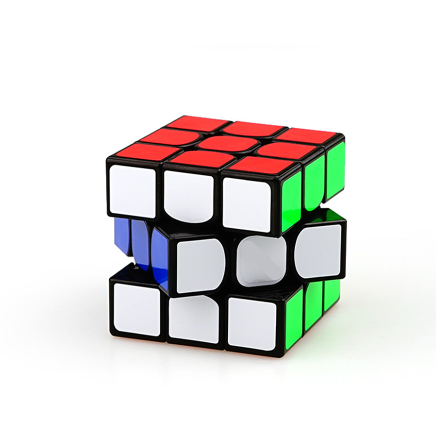3 3 3 Magic Cube Puzzle Game Cubes Educational Toys Fidget Twist Cube Speed Cubo Square Cubos Magicos Puzzles 3x3x3 602165 hot 2014 new brand dayan magic cubes gem vi diamond speed puzzles toy twist square cubo magico learning education toys gift