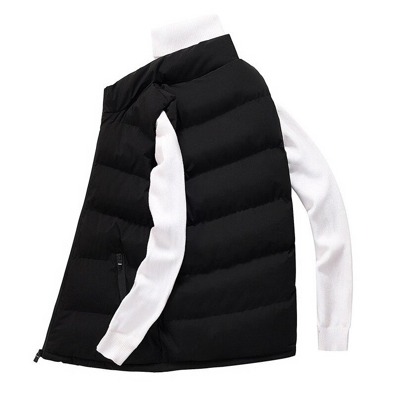 classic light men vest down korean streetwear clothing casual travel jackets male cloth vintage winter warm coat vests for men (12)