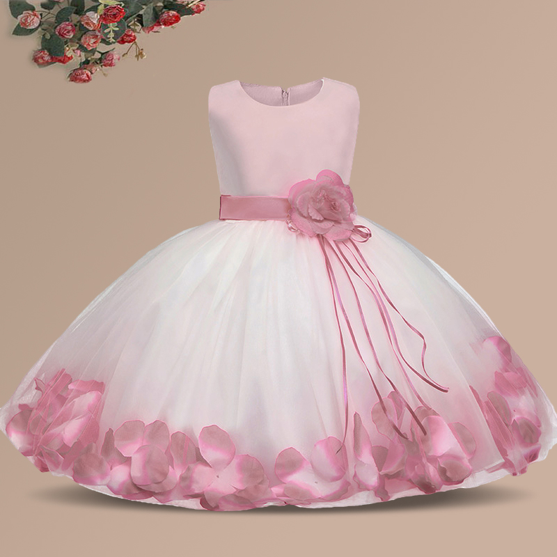 Ai Meng Baby Flower Baby Girl Christening Gown Baptism -8700